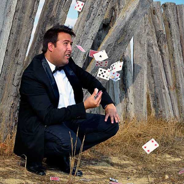 Francis Zafrilla mago en Albacete